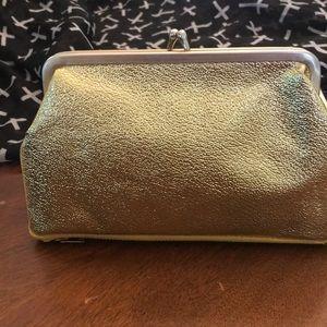 Handbags - Vintage gold wallet/clutch